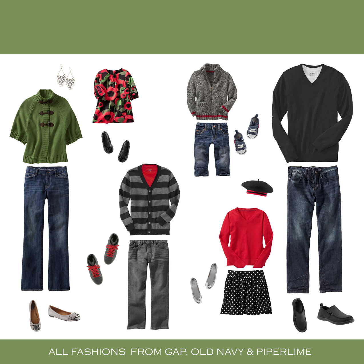 Family Picture Clothing Ideas For Winter Here Are Some IdeasFamily Photo